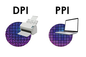 What does DPI/PPI mean