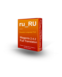 Magento 2 Russian Language Pack - version 2.4.2 localization
