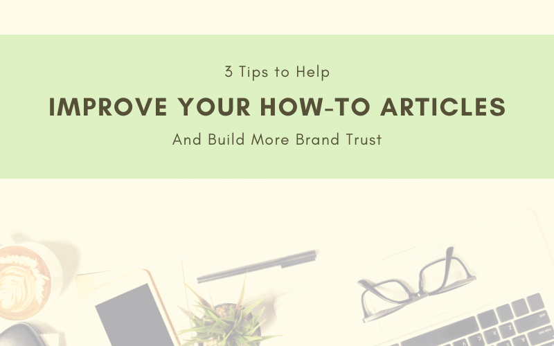 Improve Your How-To Articles